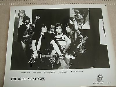 Rolling Stones  Records Studio Photo 8X10