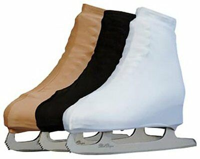 Pro Guard Figure Skate Boot Covers One Size Fits All Black / White / Flesh Tone