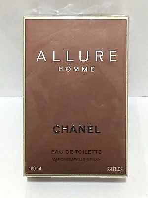 Chanel Allure Homme Eau de Toilette Spray 100ml NEW and SEALED (Fast P&P)
