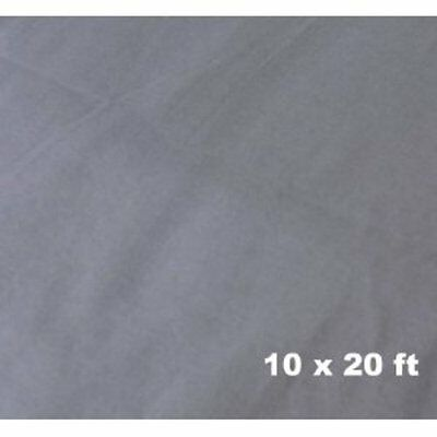 Cowboystudio Photography 10 X 20 Ft Seamless Grey Muslin Backdrop