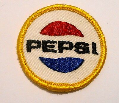 "Pepsi Soda  patch Soft Drink 2"" inches  Vintage"