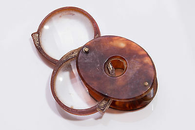 Antique Faux Tortoiseshell Early Plastic Loupe