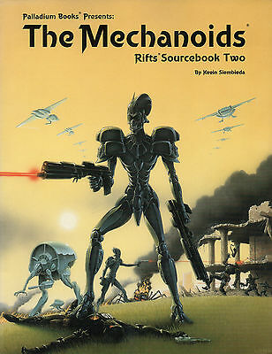 THE MECHANOIDS RIFTS SOURCEBOOK TWO Official STRATEGY GUIDE Palladium Books
