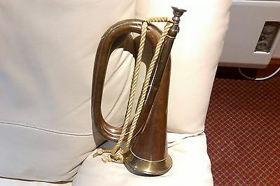 Old Military Style Bugle By John Grey And Sons London