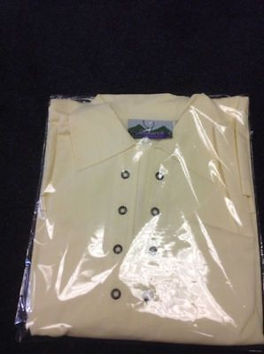 Scottish Ghillie Jacobite Shirt in Cream - Size Small