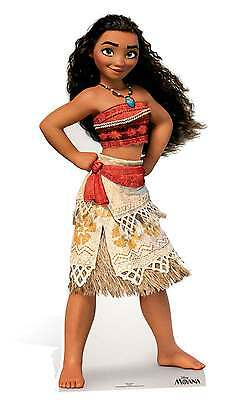 Moana Lifesize Cardboard Cutout / Standee / Standup Official Disney Decoration