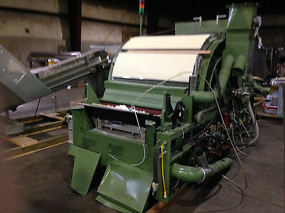 J.D. Hollingsworth cotton carding machine 48 inch Diameter - 48 inch face