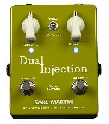 Carl Martin Dual Injection Boost Effect Pedal