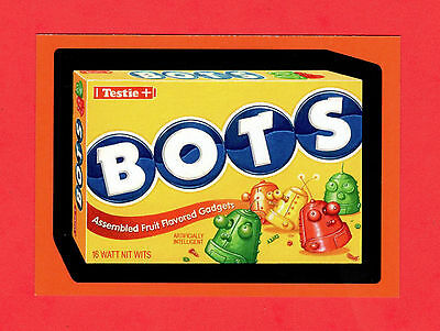 Rare 2009 Topps WACKY PACKAGES HALLOWEEN Card #H3 BOTS Dots candy spoof