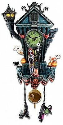 Nightmare Before Christmas Cuckoo Clock By The Bradford Exchange