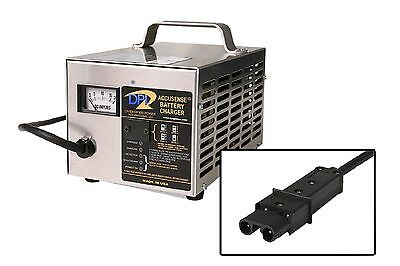 NEW DPI 48V 17A Golf Cart Battery Charger with Yamaha Nabson 2Pin Connector Plug