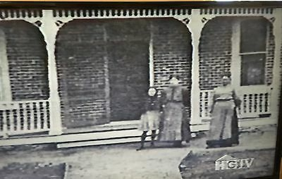 6 Antique Porch Load Bearing Posts Heavy, (2) Two Full, (4)four Half Columns1905