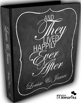 Wedding Planner/Happily Ever After/Diary/Book/Keepsake momento/Personalised