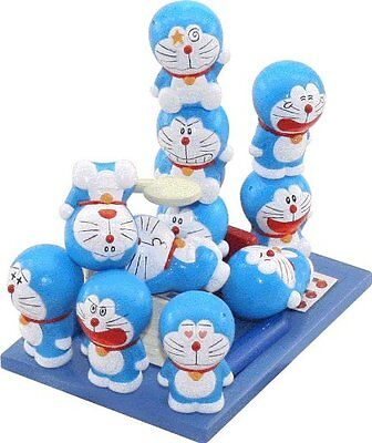 Doraemon Darake 13 Set Figure Balance Game STACKABLE Tsumu Tsumu Epoch NEW Japan