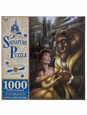 Disney Parks Beauty and the Beast 1000 piece Signature Puzzle NEW