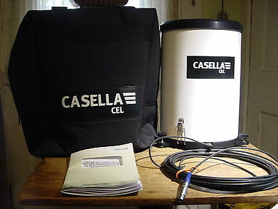 New Casella Cel Tipping Rain Bucket Gauge With Soft Sided Carrying Case & Cable