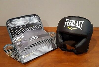 Everlast Everfresh Boxing Headgear Safety Sparring Combat MMA Boxing Level II