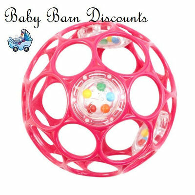 Oball Rattle - Pink Ball