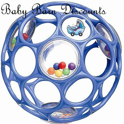 Oball Rattle - Blue Ball