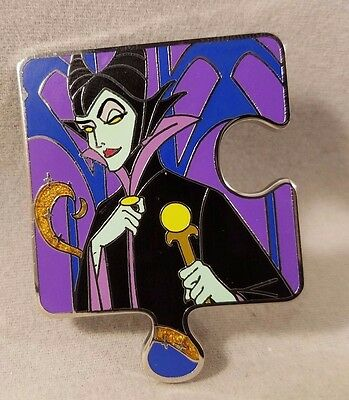 Disney Pin Character Connection Sleeping Beauty Puzzle Maleficent