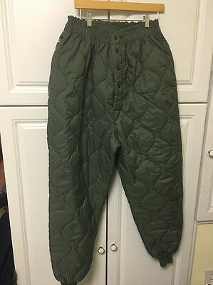 USAF Quilted Trousers : Underwear : CWU-9P Air Force Size Extra Large Xl
