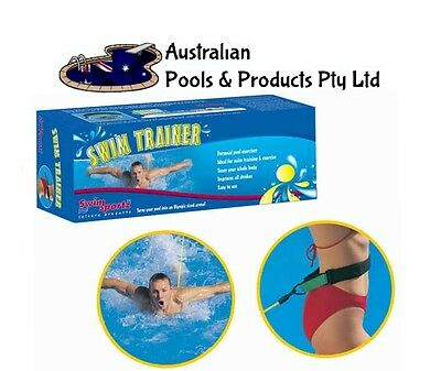 Swim Trainer SwimSportz Resistance Hydrotherapy Pool Trainer Harness Low Impact