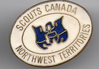 Northwest Territories Boy Scout  Pin