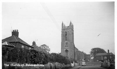 Church at Whissendine Nr Oakham unused RP old pc Landscape View