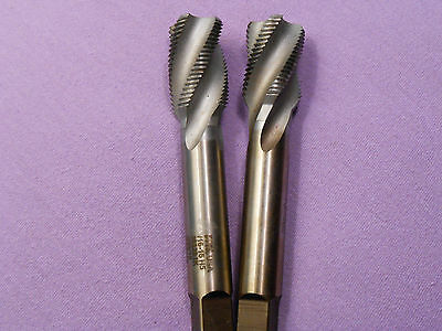 TAPS two 13/16-16  fluted spiral used still sharp $21.99 with FREE SHIPPING