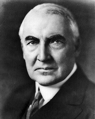 New 8x10 Photo: Warren G. Harding, 29th President of the United States