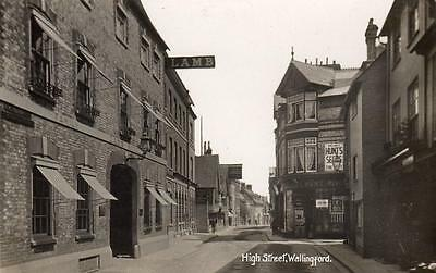 High Street Wallingford unused RP old pc G P Relf