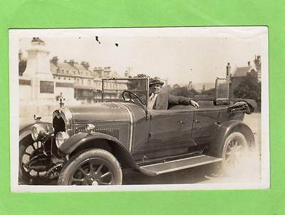 Motor Car RP old pc used 1925 ? Weston Super Mare ?