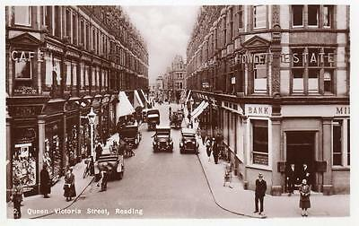Queen Victoria Street Reading unused RP old pc
