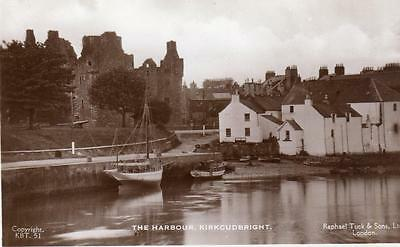 The Harbour Kirkcudbright unused RP pc Tuck