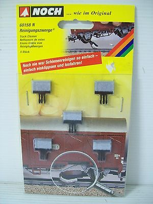 Noch N Scale Wagon Track Cleaning Pads
