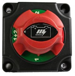 BATTERY MASTER SWITCH DUAL SYSTEM ISOLATOR- BATTERY 1,2, BOTH:CARAVANS BOATS 4x4
