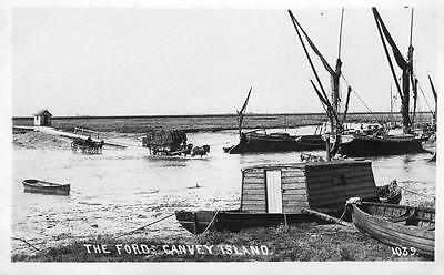 The Ford Canvey Island Barge unused RP pc Haven Series Padgett