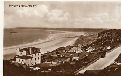St Ouen's Bay Jersey unused RP old pc