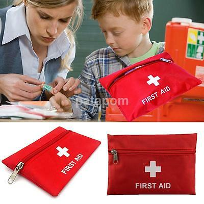 Portable Sports Camping Home Medical Emergency Survival First Aid Kit Empty Bag