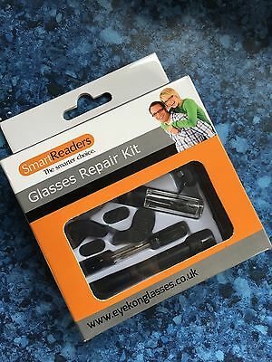New Luxury Glasses Spectacle Repair Kit Boxed With Plastic Case Top Quality
