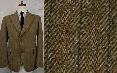 Vintage 60s / 70s Thick Harris Tweed Jacket / Blazer by Hardy Amies -42- BS51