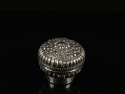 An Antique Thai Silver Betel (Paan) Box.