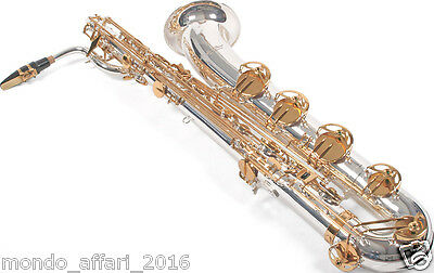 Sassofono Sax Baritono Karl Glaser Custodia e Accessori TOP Discendente in A