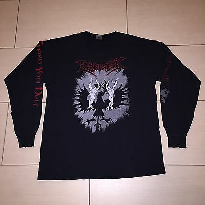 DISMEMBER - I Wish You Hell - Original - Tour Longsleeve Shirt - RARITÄT!