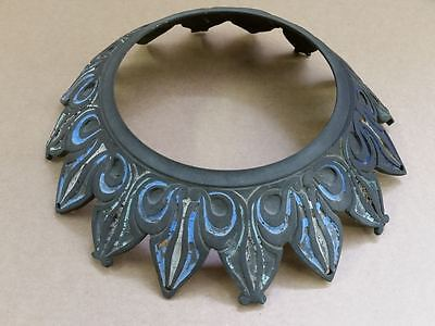 ANTIQUE & ORIGINAL Bronze hand painted stand-part of the chandelier or lamp