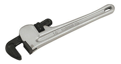Sealey AK5108 Pipe Wrench European Pattern 350mm Aluminium Alloy