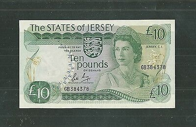 AUNC sign. May 10 pounds 1983. JERSEY England