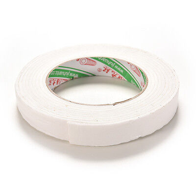 New Double Sided White Foam Sticky Tape Roll Adhesive Super Strong 1.8*300cm RE