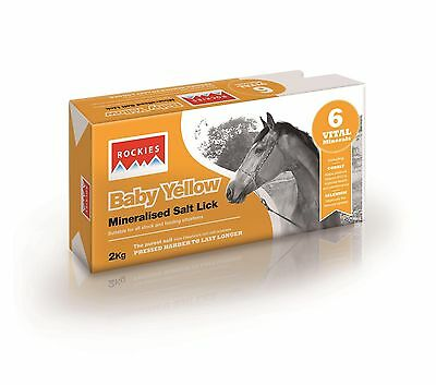 Rockies Baby Yellow - 10 x 2kg - Horse Equestrian Horse Feed