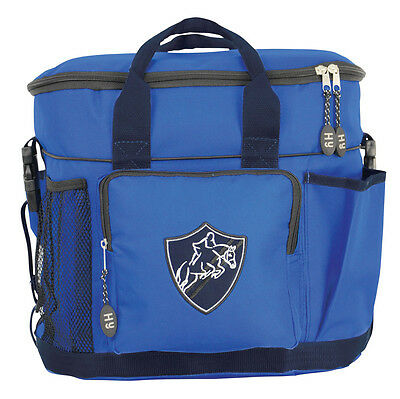 HySHINE Pro Grooming Bag - Brilliant Blue/Navy - Horse Grooming Boxes & Bags